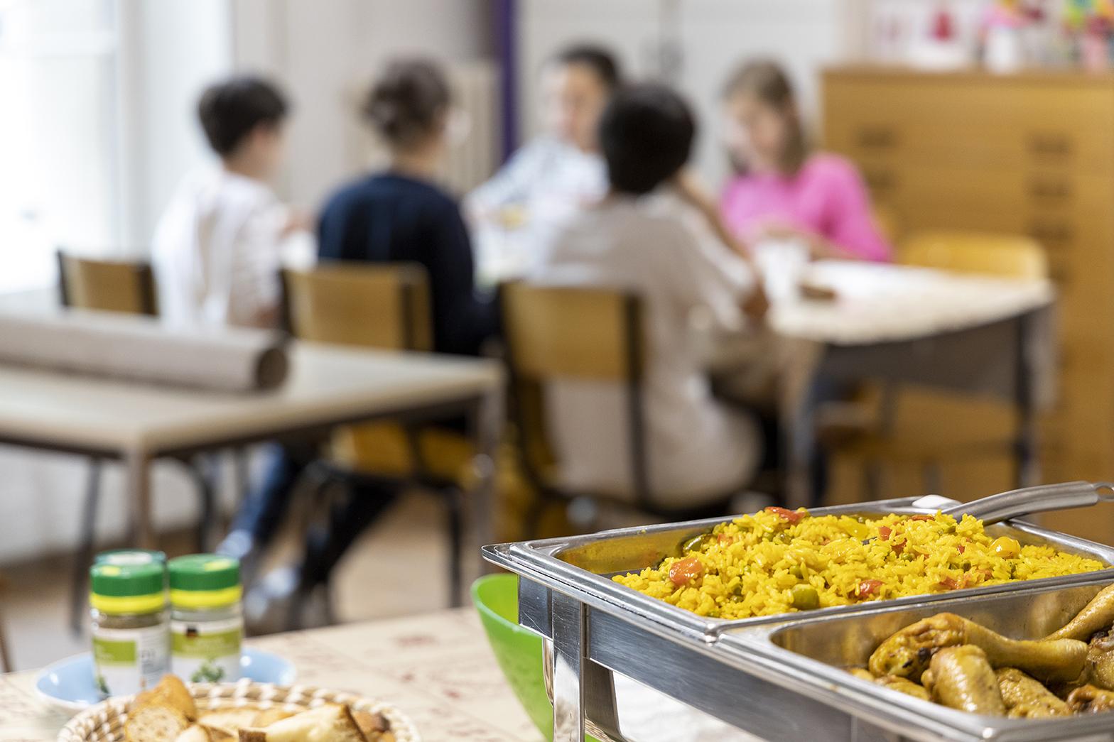 Restaurant scolaire | École Brechbühl